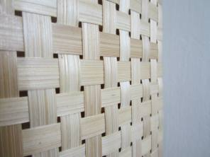 Beauty in simplicity. Bamboo weave.